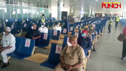 Reps Inspect Abuja Airport As Domestic Flights Resume
