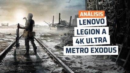 Lenovo Legion T730 - rendimiento Metro Exodus