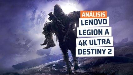 Lenovo Legion T730 - rendimiento Destiny 2