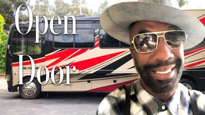 Inside J.B. Smoove's Tricked-Out RV With A Lofted Bedroom