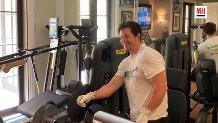Mark Wahlberg | Gym & Fridge Tour