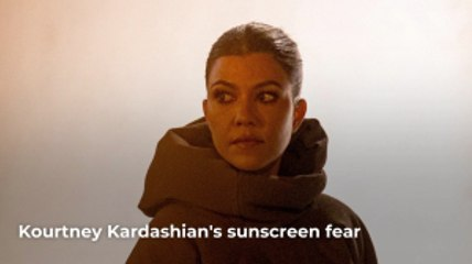 Kourtney Kardashian's Sunscreen Talk