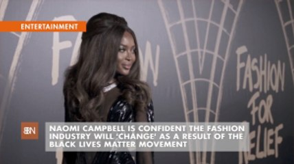 Naomi Campbell Thinks Fashion Is About To Evolve