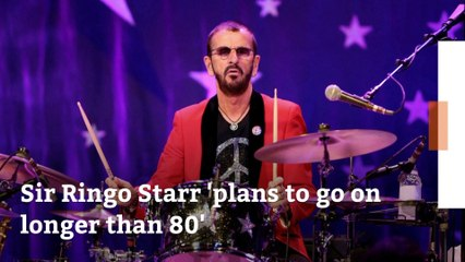 Sir Ringo Starr Has Plenty Of Life Left