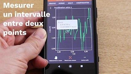 Activité expérimentale avec un smartphone – Tutoriel pour utiliser PHYPHOX