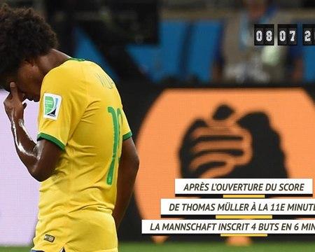 CdM 2014 - Il y a 6 ans, l'Allemagne humiliait le Brésil chez lui