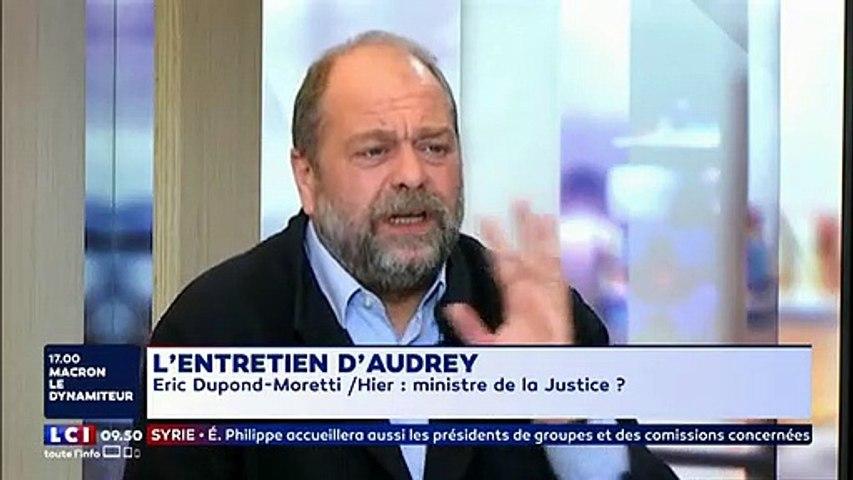 """""""Je n'accepterai jamais"""" : Quand Eric Dupond-Moretti refusait catégoriquement le poste de ministre de la Justice"""