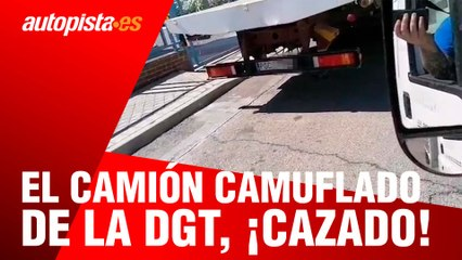 El camión camuflado de la DGT, ¡cazado!