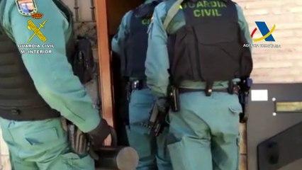 Operación Beltza en Navarra: así ha entrado la Guardia Civil en la casa de Arguedas