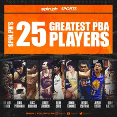 Spin.ph's 25 Greatest PBA Players