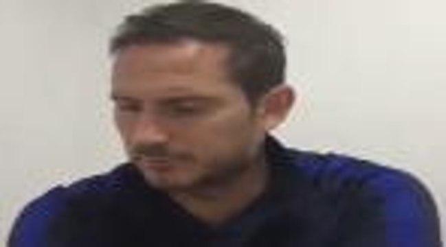 """35e j. - Lampard : """"J'ai beaucoup appris aujourd'hui sur les joueurs"""""""