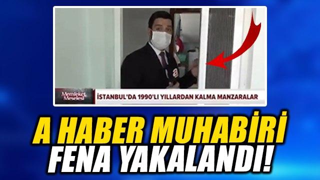 A Haber Ekrem İmamoğlu'nu eleştireyim derken fena yakalandı!