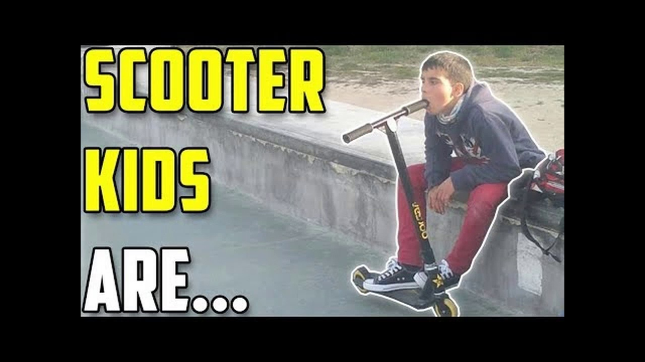 Scooter Kids are Scooter Kids #2 (Skaters vs Scooters)