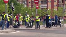 Desalojada la 'quinta torre' en obras de la Castellana de Madrid por la rotura d