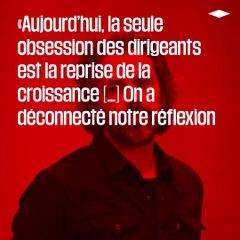 Aymeric Caron : «On gère la crise économique avec les anciennes méthodes»