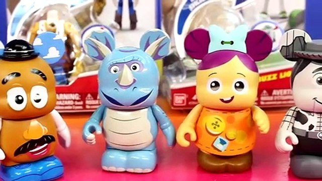Toy STory Vinylmations Series 2 & Toy Story Buzz Lightyear & Woody Hatchin' Heroes
