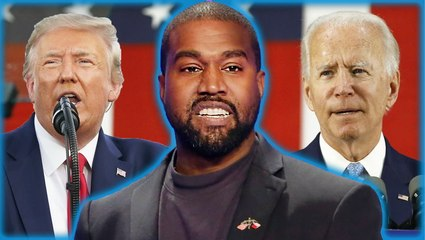 Kanye West Shades Donald Trump & Joe Biden Ahead Of 2020 Election