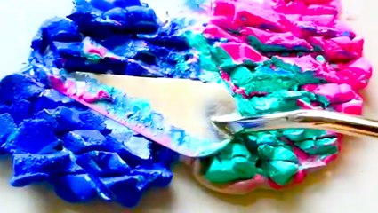 These paint-mixing videos will calm your nerves