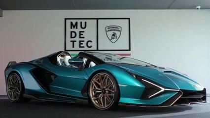 The Lamborghini Sian Roadster - Stefano Domenicali