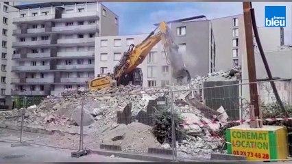 Reprise du chantier dans le quartier Croix-Rouge à Reims