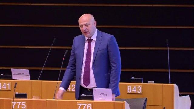 MislavKolakušić: 'A Catalunya hi ha una persecució política que silenciem al Parlament Europeu'