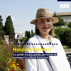 Natalia Pelikhova, guide russophone à Nice