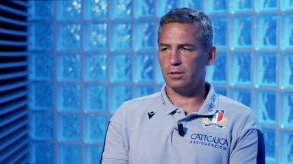 Italrugby in raduno a Parma, video intervista al Ct Smith