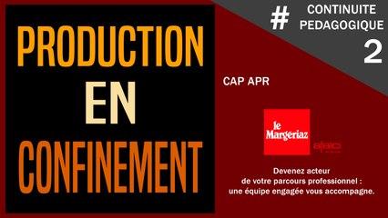 #CONTINUITE PEDAGOGIQUE AU MARGERIAZ  2 : les recettes des CAP APR
