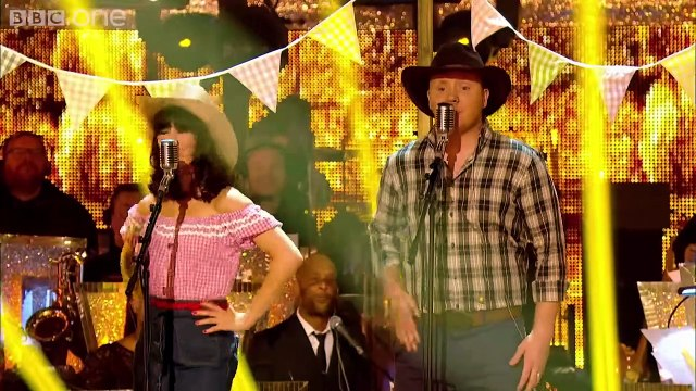 Strictly Pros Dance to 'Cotton Eyed Joe - Timber' medley - Strictly Come Dancing 2014