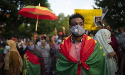 'It's eating me up inside': killing of Ethiopian musician sparks deadly protests