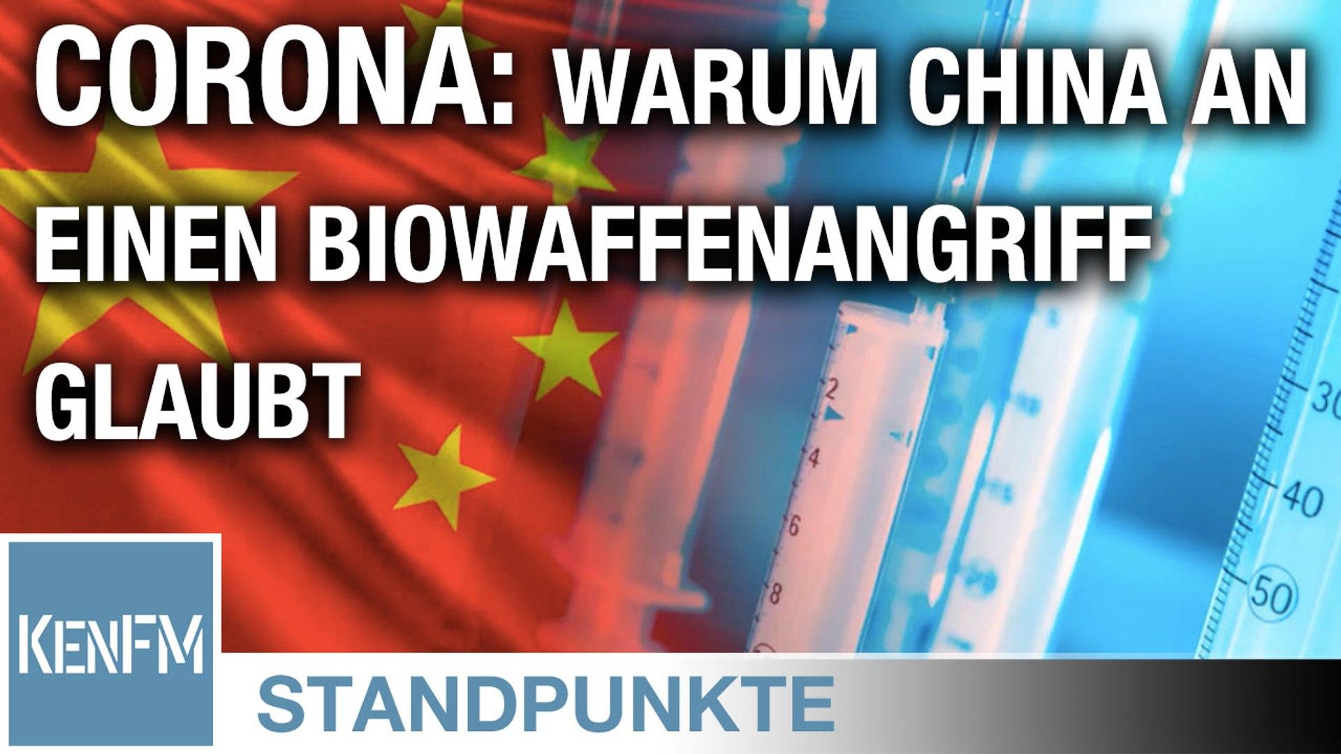 Corona: Warum China an einen Biowaffenangriff glaubt | Von Jochen Mitschka