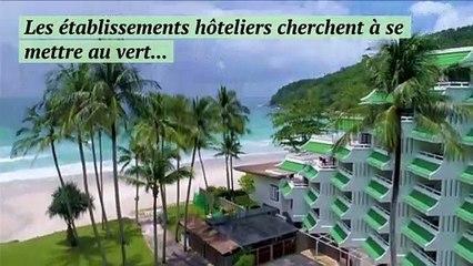 Les hôtels commencent à se mettre au vert