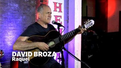 Dailymotion Elevate: David Broza - Raquel live at Cafe Bohemia, NYC
