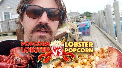 POPCORN LOBSTER VS LOBSTER POPCORN
