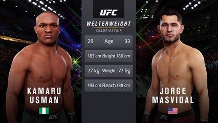 UFC 251: Usman vs. Masvidal - UFC Welterweight Title Match - CPU Prediction