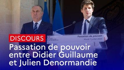 Passation de pouvoir : Discours de Julien Denormandie, ministre de l'Agriculture et de l'Alimentation