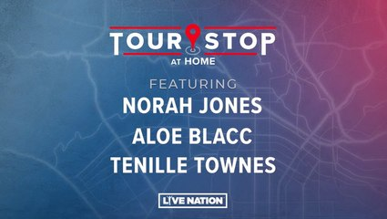 Tour Stop: Norah Jones, Aloe Blacc, Tenille Townes
