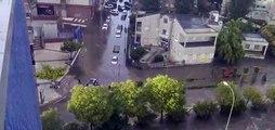 Inundaciones en Fuenlabrada tras una monumental tromba de agua