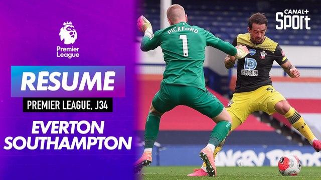 Le résumé de Everton / Southampton (Version courte)
