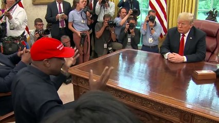 Kanye West's full remarks in the Oval Office