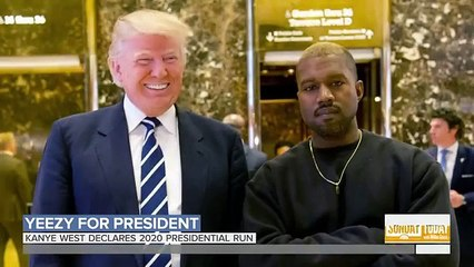 Kanye West Tweets He's Running For President In 2020 _ Sunday TODAY