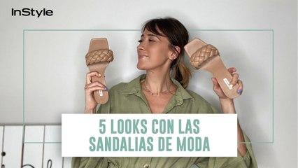 5 looks con las sandalias acolchadas de Stradivarius más de moda del verano 2020