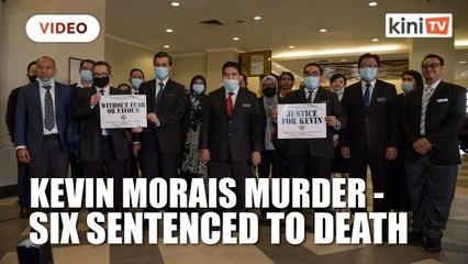 Six sentenced to death over murder of Kevin Morais