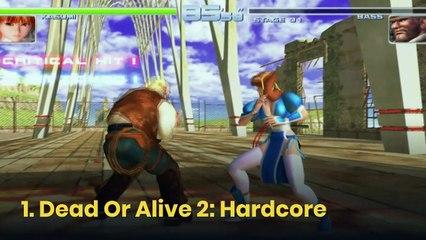 10 de los mejores videojuegos de lucha de la historia