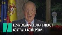 Las menciones de Juan Carlos I contra la corrupción