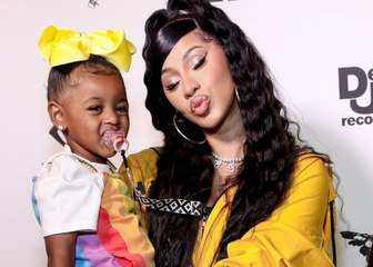Cardi B Clapped Back After a Troll Mom-Shamed Her About Kulture's Pacifier