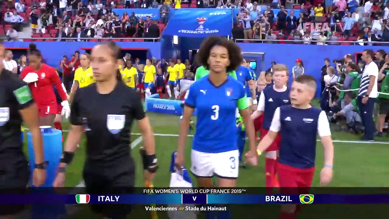 Italy v Brazil – FIFA Women's World Cup France 2019™