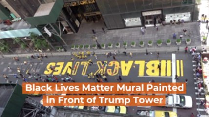 Black Lives Matter Comes To Trump Tower