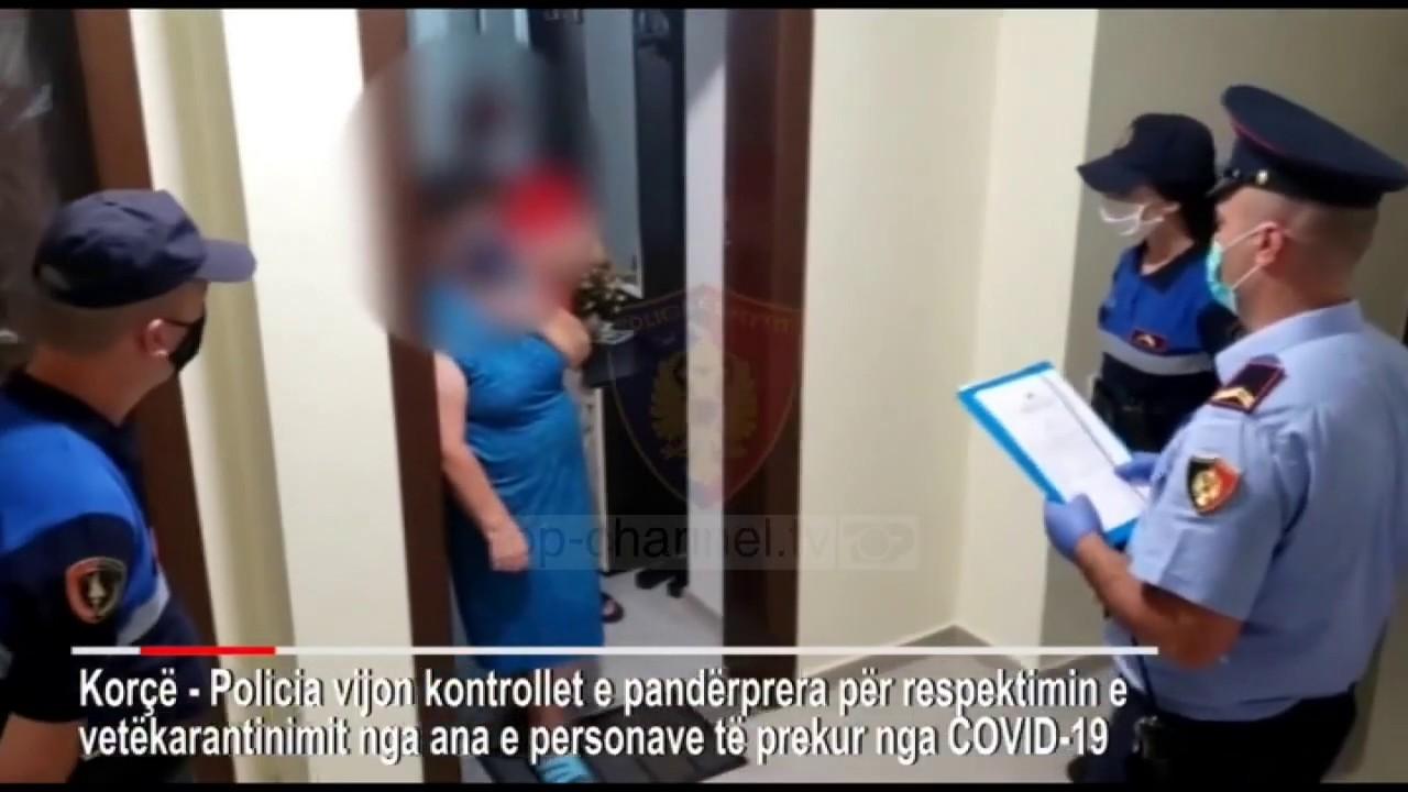 Top News – Policia nis kontrollin nëpër banesa/ Të prekurit me Covid-19