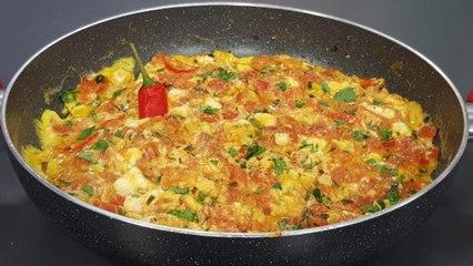 Fërgesë me domate dhe djath nga zonja Vjollca